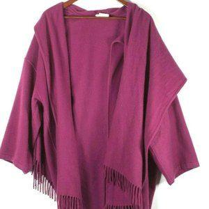 Salvatore Ferragamo Small Pink Cashmere Jacket